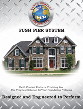 Foundation repairs - Push Pier Foundation Repair - Crawlspace Brochures