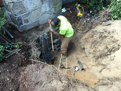 leaning chimney repair Connecticut