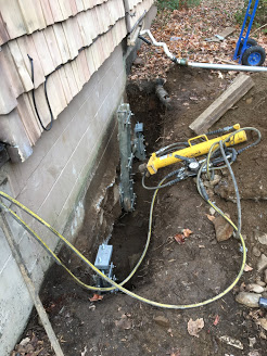 Sinking Foundation Repair with Push Piers Fairfield CT (1)