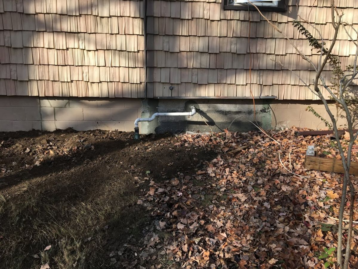 Sinking Foundation Repair with Push Piers Fairfield CT (13)