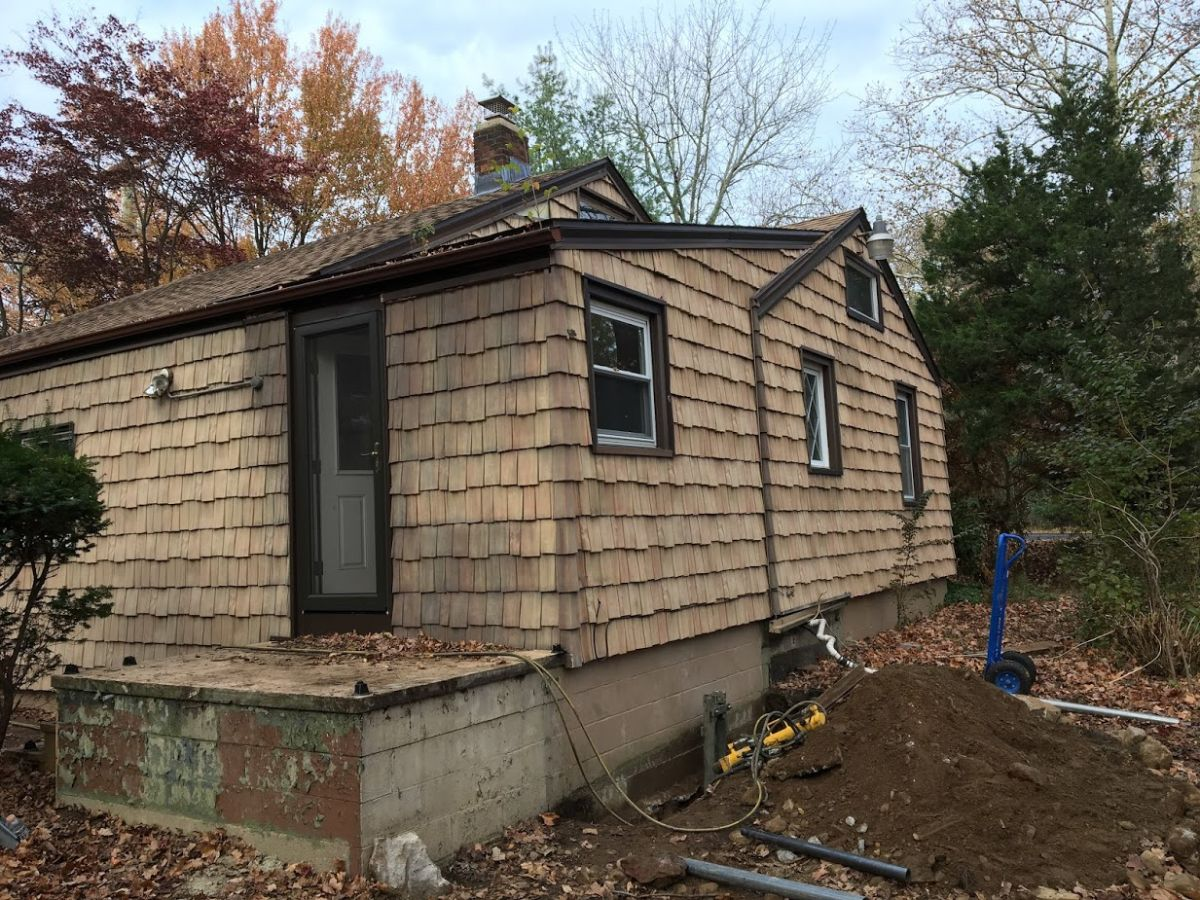 Sinking Foundation Repair with Push Piers Fairfield CT (6)